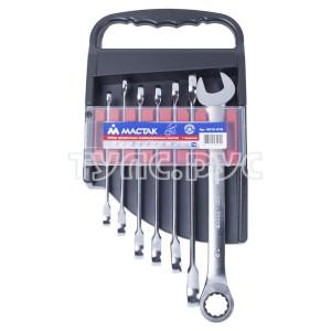 Набор комбинированных трещоточных ключей, 8-19 мм, 7 предметов МАСТАК 0213-07H