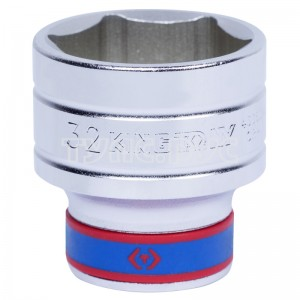 "Головка торцевая стандартная шестигранная 1/2"", 32 мм KING TONY 433532M"