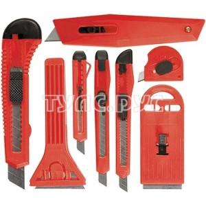 Набор ножей с выдвижными лезвиями MATRIX 78991