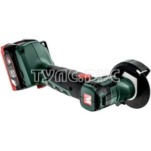Аккумуляторная угловая шлифмашина Metabo PowerMaxx CC 12 BL 2x4.0 600348800