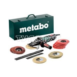 Угловая шлифмашина Metabo WEVF 10-125 Quick Inox SET 613080500