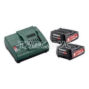 Набор Basic-Set 12V (2 аккумулятора Li-Power 12 В, 2,0 Ач+ЗУ SC30) Metabo 685300000