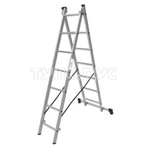 Олимп Лестница двухсекционная 2x7 1220207A
