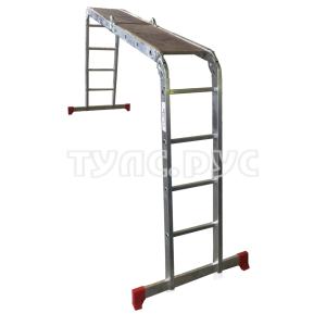 Олимп Четырёхсекционная лестница-трансформер 4х4 с площадкой 2330404A