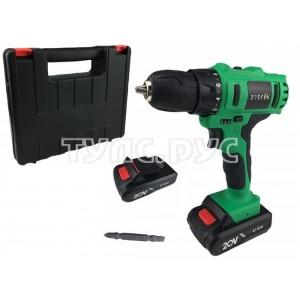 Аккумуляторная дрель Zitrek Greenpower 20-Li 063-4076